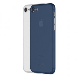 Incipio Feather Light (2 Pack) for iPhone 8 - Frost/Navy