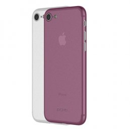 Incipio Feather Light (2 Pack) for iPhone 8 - Frost/Plum