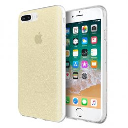 Incipio Design Series - Classic for iPhone 8 Plus, iPhone 7 Plus, & iPhone 6/6s Plus - Champagne Glitter