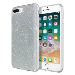 Incipio Design Series - Classic for iPhone 8 Plus, iPhone 7 Plus, & iPhone 6/6s Plus - Glitter Star Cut Out