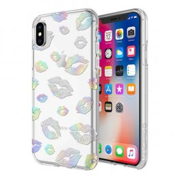 Incipio Design Series - Classic for iPhone X - Holographic Kisses
