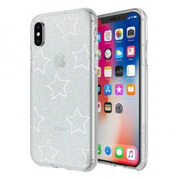 Incipio Design Series - Classic for iPhone X - Glitter Star Cut Out