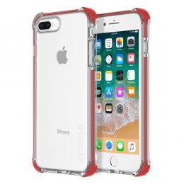 Incipio Reprieve Sport for iPhone 8 Plus  / 7 Plus - Red/Clear