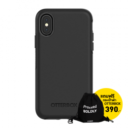 OtterBox Symmetry for iPhone X - Black