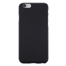 Power Support Air Jacket For iPhone 6 Plus/6s Plus (With film) - Rubberized Black
