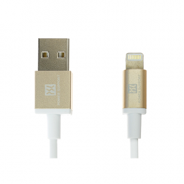 Power Support USB to Lightning Cable 1m - Gold