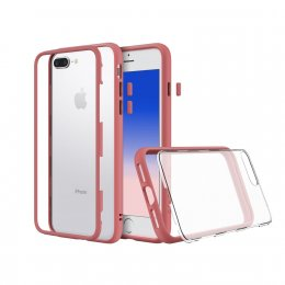 Rhinoshield Mod for iPhone 7 Plus / 8 Plus - Coral Pink