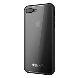 SwitchEasy Tempered Glass case for iPhone 7 Plus - Black