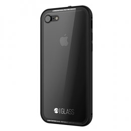 SwitchEasy Tempered Glass case for iPhone 7 - Black
