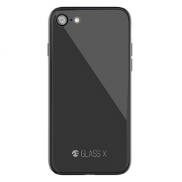 SwitchEasy Glass X for iPhone 7/8 - Space Gray