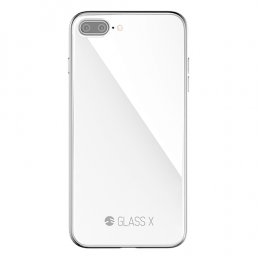 SwitchEasy Glass X for iPhone 7Plus/8Plus - Silver