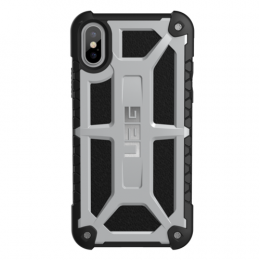 UAG Monarch Case for iPhone X - Platinum (Silver)