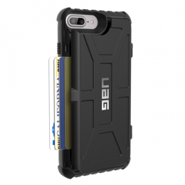UAG Trooper Case for iPhone 6SP / 7P / 8P   - Black