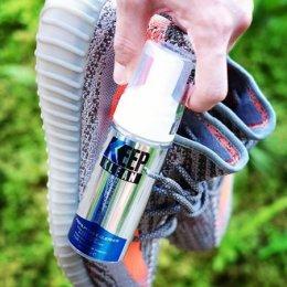 สติ๊กเกอร์ติดขวดน้ำยาทำความสะอาดรองเท้า
