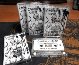 CANNIBAL CORPSE'Created To Kill Demo 1995' Tape.(Bootleg)