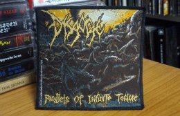 DISGORGE'Parallels of Infinite Torture' Woven Patch.