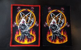 SLAYER Woven patch.(Bootleg)