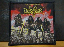 DESASTER's Woven Patch.