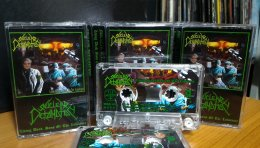NUCLEAR DETONATION'Living Dead,Sons Of The Lobotomy' Tape.