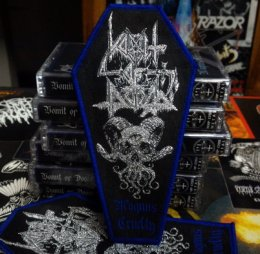 VOMIT OF DOOM'Magnus Cruelty' Woven Patch.