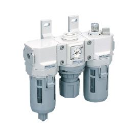 CKD Filter+Regulator+Lubricator C4000-10-W-F