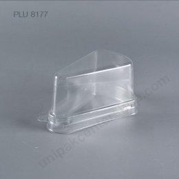 กล่องเค้กสามเหลี่ยม PET C2  (TRIANGLE CAKE CASE )