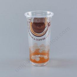 ถ้วยน้ำดื่ม 22 oz PP (Mc) ลาย Let's talk about coffee