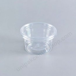 ถ้วยน้ำ 3 oz k-resin + ฝาเรียบ (8124)