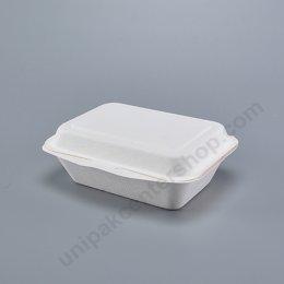 FEST Bio ชานอ้อย กล่องอาหารเหลี่ยม 600 ml