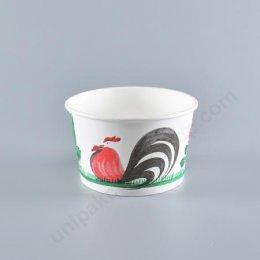 FEST ชามกระดาษปลอดภัย 260 ml (PL006)ลายไก่