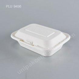 FEST กล่องอาหารเยื่อธรรมชาติเหลี่ยม 450 ml