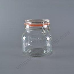 ขวดโหลฝาแก้วหูล็อคสปริง F6236Y