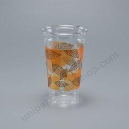 ถ้วยน้ำดื่ม วัสดุ PET 22 oz(660 cc) ลาย GoodTime ตรา โรดดี้แพค