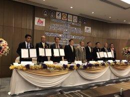 ส.ผู้สื่อข่าวต้านคอรัปชั่น(ประเทศไทย) จับมือ 5 มหาวิทยาลัยดัง ต้านการทุจริตคอรัปชั่น