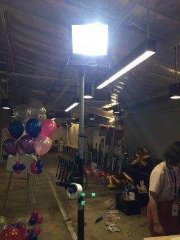 SET 3 เช่าไฟสปอตไลท์ LED 200 วัตต์ แสงขาว