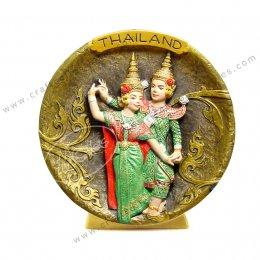 Thai Dance Show Plate