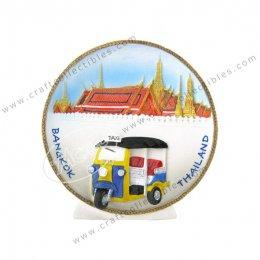 Tuk Tuk Show Plate (Small)