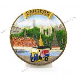 Bangkok (Gold Banner) Show Plate