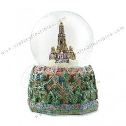 Wat Arun & Giant Snowball