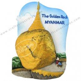 The Golden Rock, Myanmar