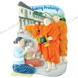 Luang Pra Bang Monk, Laos