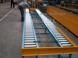 Application of roller conveyor