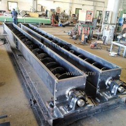 Screw conveyor(Non hanger bearing)(3)
