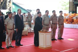 Keel Laying Ceremony HYDROGRAPHIC SURVEY VESSEL Port Authoriy of Thailand
