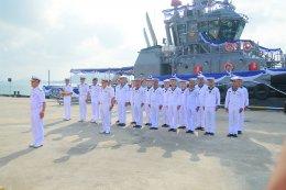 กองทัพเรือ จัดพิธีรับมอบเรือลากจูงขนาดกลาง เรือหลวงหลีเป๊ะ H.T.M.S.LIPE