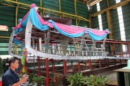 Keel Laying Ceremony 17 M. Catamaran River Cruise