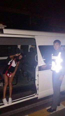 โครงการสายตรวจรถตู้ รับ-ส่งประชาชน เพื่อความปลอดภัย