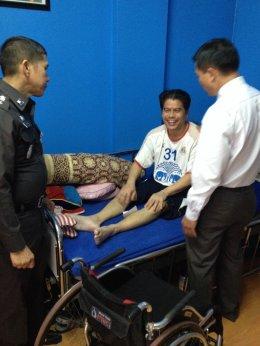 ผบก.น.9  ตรวจเยี่ยมข้าราชการตำรวจในสังกัดสน.หนองแขม