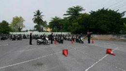 โครงการเพิ่มประสิทธิภาพการใช้รถจักรยานยนต์ของเจ้าหน้าที่ตำรวจ สังกัดบก.น.9