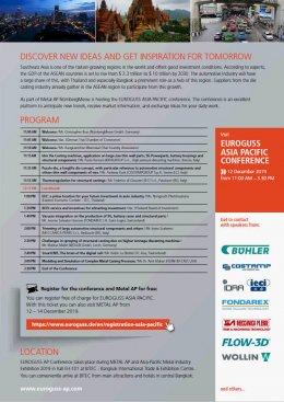 ขอเชิญเข้าร่วมงาน EUROGUSS Asia Pacific